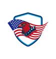 american eagle head image vector image vector image