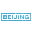 Beijing Rubber Stamp vector image vector image