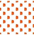Bisiness plan folder pattern cartoon style vector image