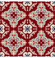 christmas seamless pattern tiled vector image