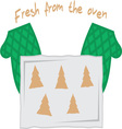 Fresh From The Oven vector image vector image