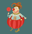 Funny clown art vector image vector image