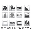 Movie icons Film and square icon