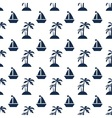 Palms and ships vector image vector image