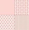 pink elephant patterns vector image vector image