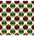 seamless christmas balls vector image vector image