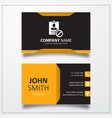 Block id card icon business card template