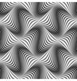Design seamless monochrome dots pattern vector image vector image