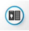 drink menu icon symbol premium quality isolated vector image