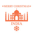 Greeting Card India vector image vector image