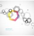 Hexagon Background vector image vector image