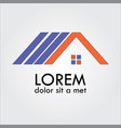 home roshape logo vector image vector image