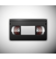Isolated videotape vector image vector image
