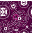 purple seamless pattern vector image vector image