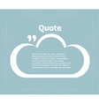 Quote sign icon Quotation mark in speech bubble