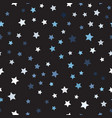 random star pattern seamless vector image vector image