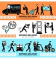 Delivery Banner Set vector image