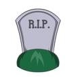Grave rip icon cartoon style vector image vector image