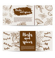 herbs and spices design element forflyer banner vector image