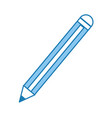 pencil isolated icon vector image
