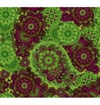 Seamless Oriental Pattern Colorful Paisley vector image