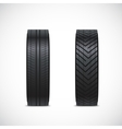 tire icons vector image