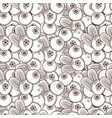 vintage cowberry seamless pattern vector image vector image
