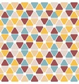 Colorful geometric pattern vector image