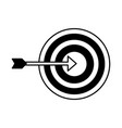 business target strategy vector image