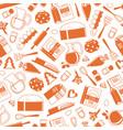 cooking ingridients or groceries pattern in vector image