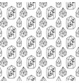 crystals gem magic seamless pattern vector image vector image