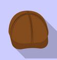Design of headgear and cap symbol set of