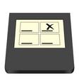 electoral card vector image