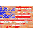 Grunge United States Flag vector image