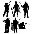 Hunter Silhouette vector image