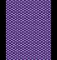 Purple weave texture synthetic fiber geometric sea vector image vector image