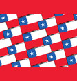abstract chilean flag or banner vector image
