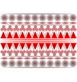 african print fabric ethnic handmade ornament vector image