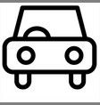 auto car transport transportation vehicle icon vector image vector image