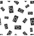 camera seamless pattern background business flat vector image