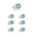 Home stickers discount set concept vector image vector image