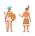 indians maya civilization historical heritage vector image