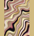 luxury pink beige and gold marbling vector image