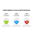 people in medical mask public opinion vector image