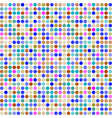 abstract colorful background with dots vector image vector image