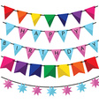 Birthday decoration vector image vector image