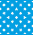 button for clothing pattern seamless blue vector image vector image