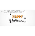 happy halloween background banner design vector image