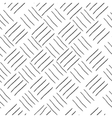 Line square geometric seamless pattern vector image