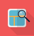local seo icon set of great flat icons with vector image vector image